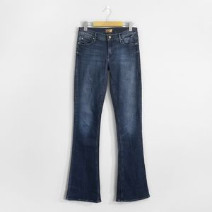 MOTHER The Runaway Mid Rise Flared Bootcut Jeans